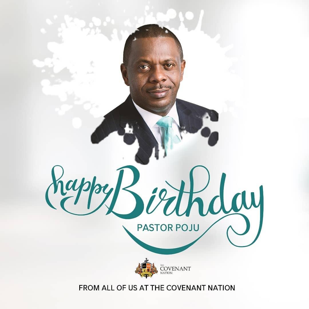 Happy 52nd Birthday Celebration To Pastor Poju Oyemade