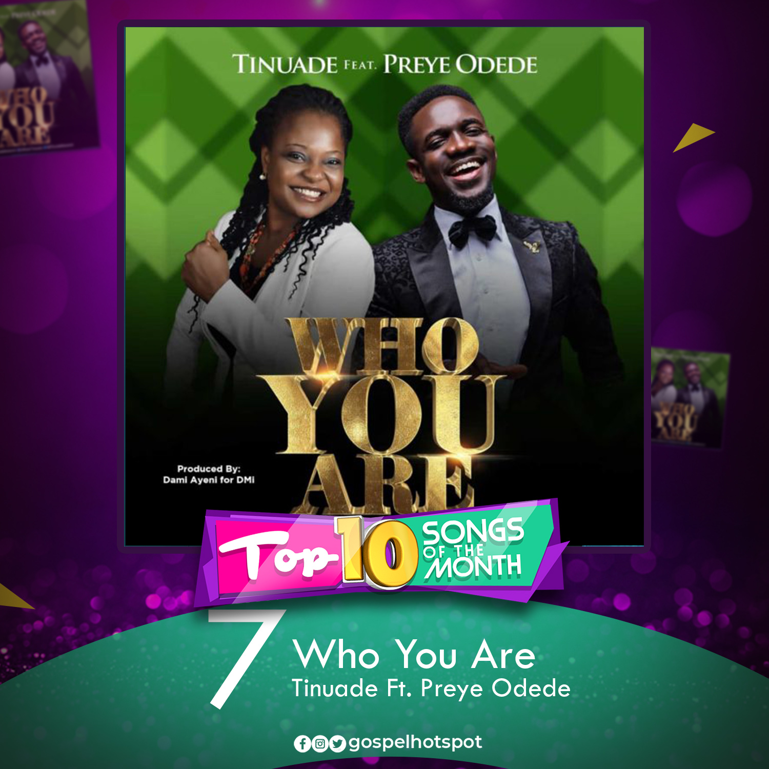 Tinuade Ft. Preye Odede – Who You Are