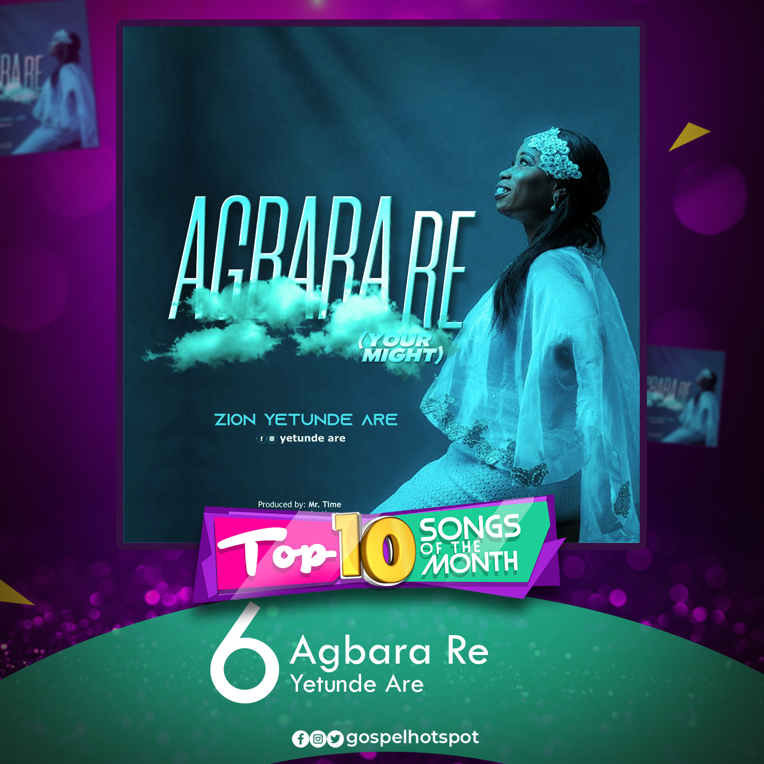 Agbara Re – Yetunde Are Zion