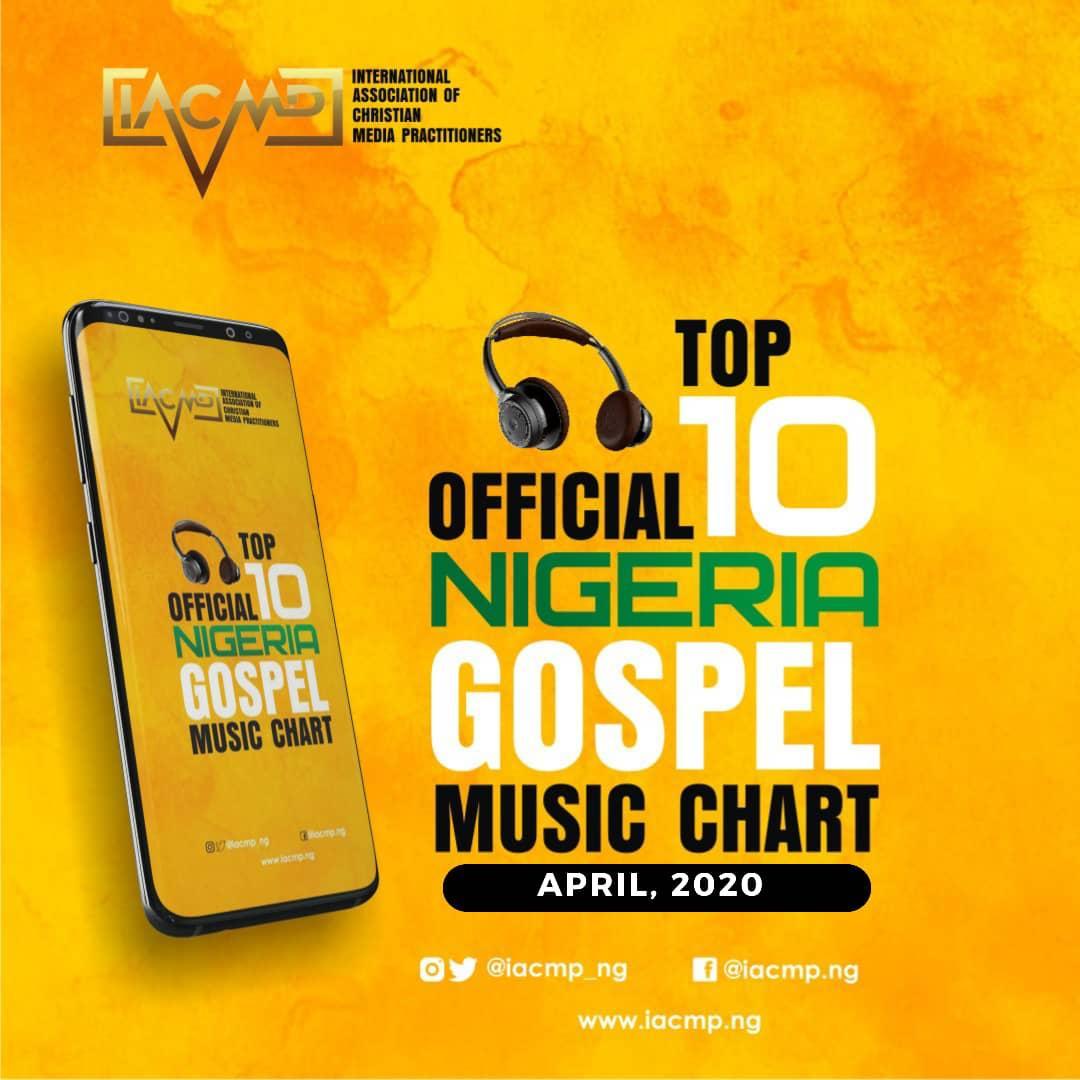 IACMP Nigeria Gospel Music Top 10 Chart [April 2020]