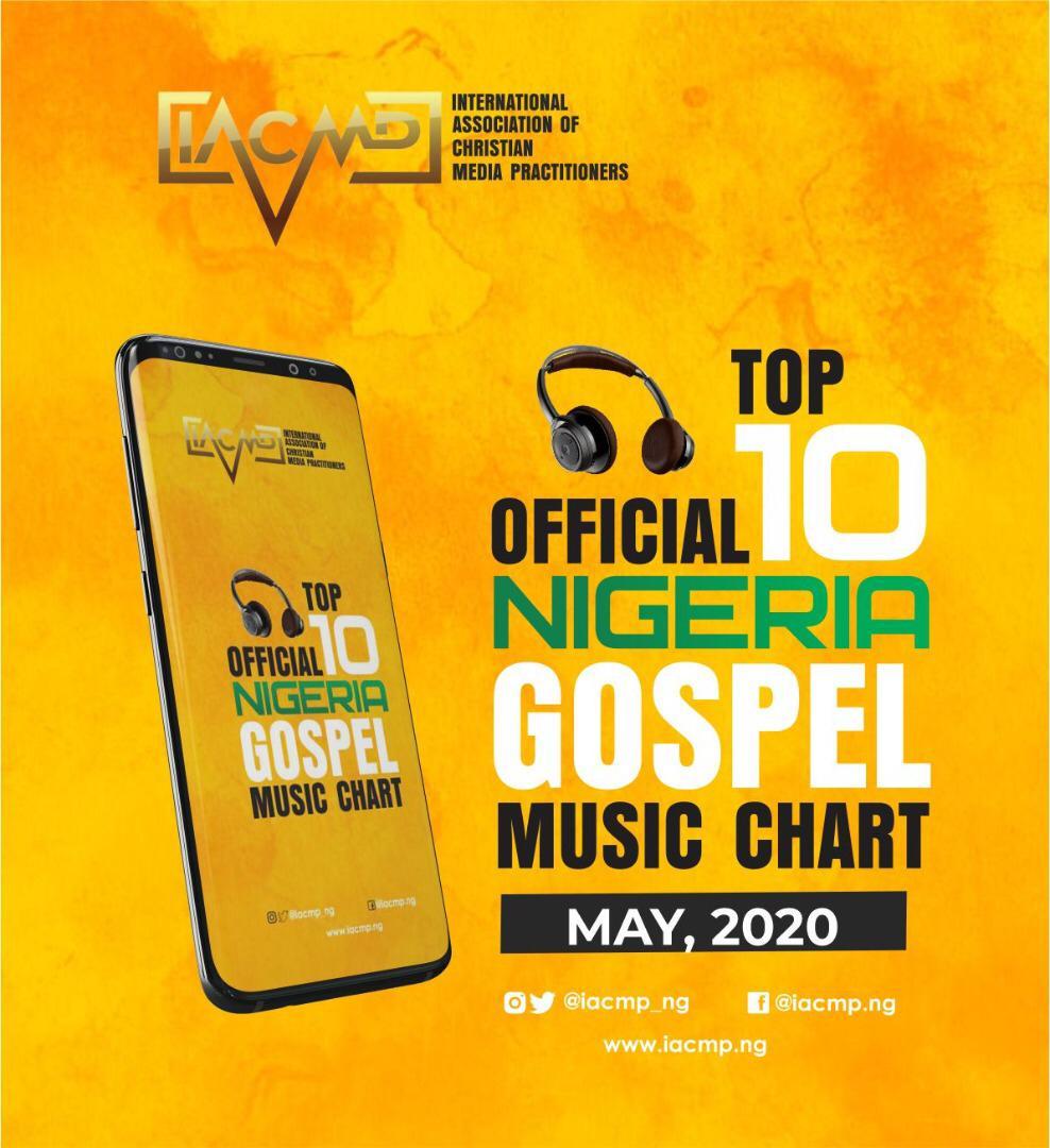 IACMP Nigeria Gospel Music Top 10 Chart