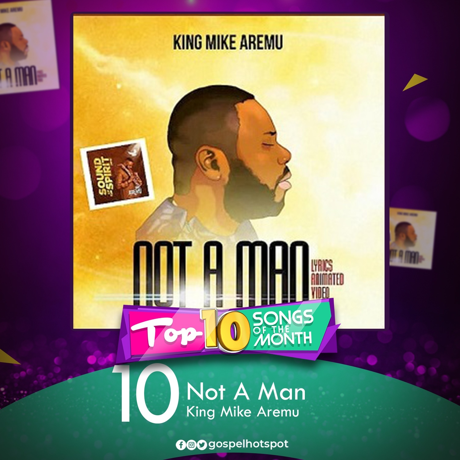 Not A Man – King Mike Aremu