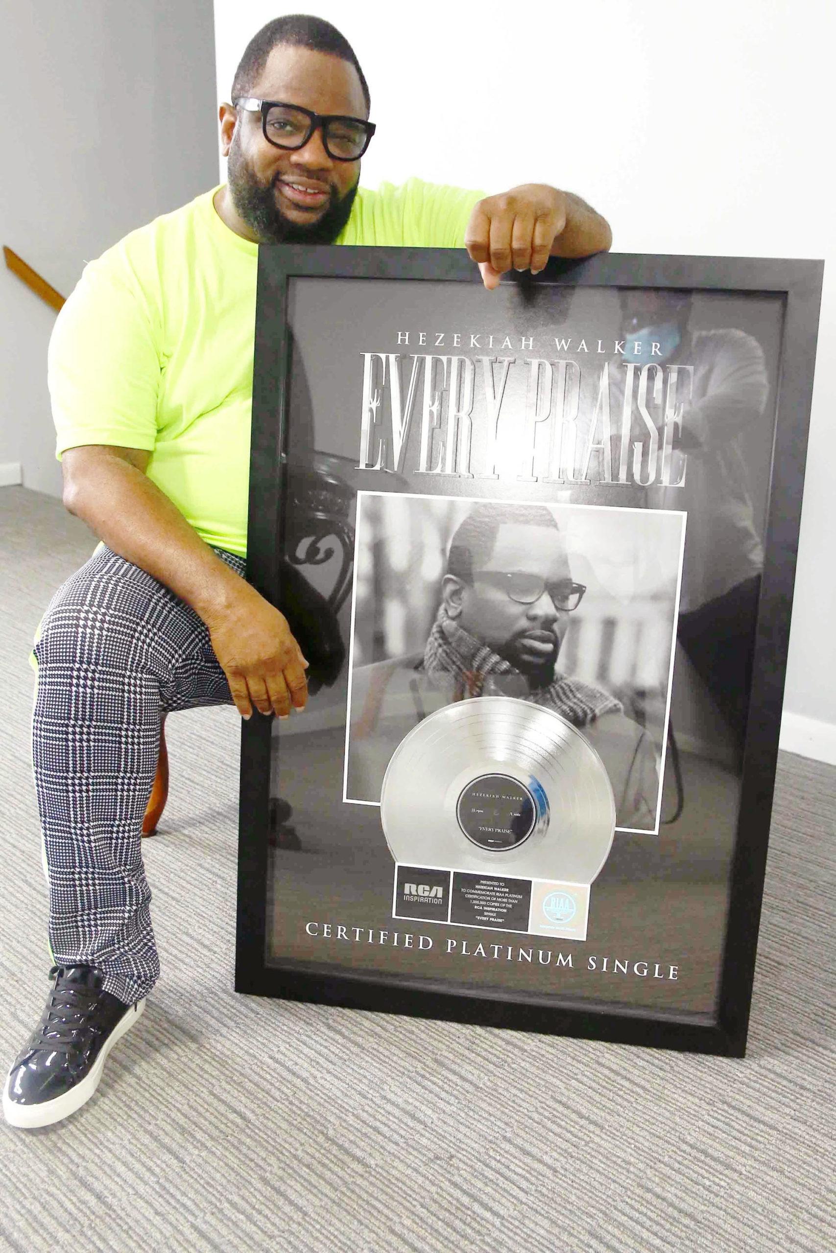 Hezekiah Walker's Every Praise Is Certified Platinum