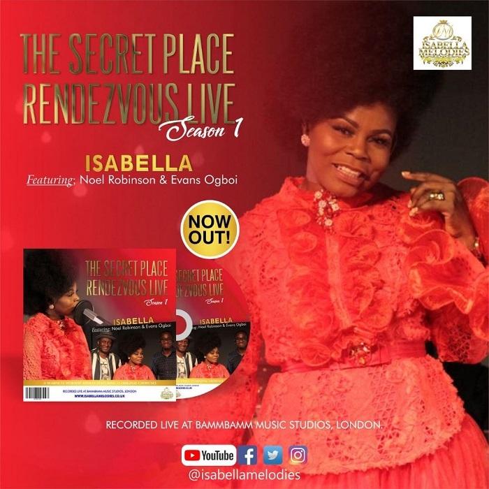 Secret Place - Isabella Ft. Noel Robinson