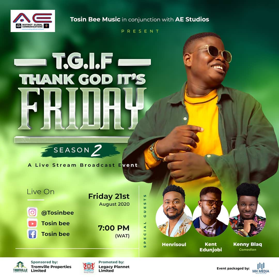 TGIF With Tosin Bee