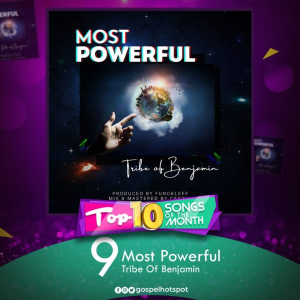 Most Powerful – Tribe Of Benjami