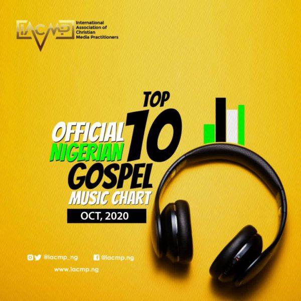 IACMP Nigeria Gospel Music Top 10 Chart [October 2020]