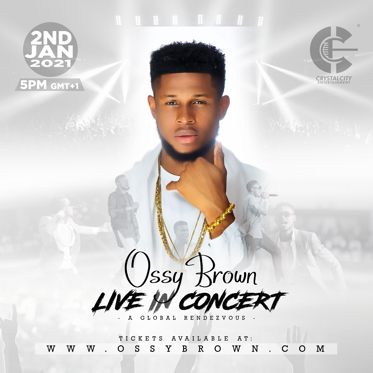 Ossy Brown Set to Hold Live Concert On Jan 2, 2021