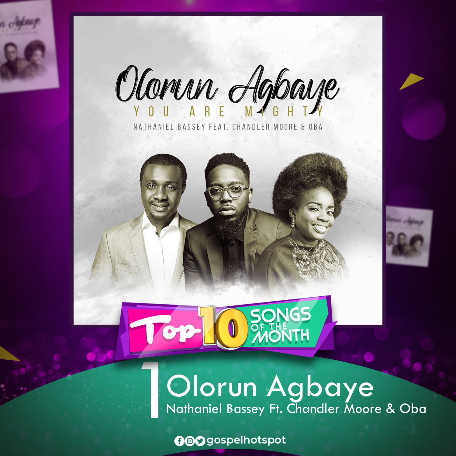 Olorun Agbaye [You Are Mighty] – Nathaniel Bassey Ft. Chandler Moore & Oba
