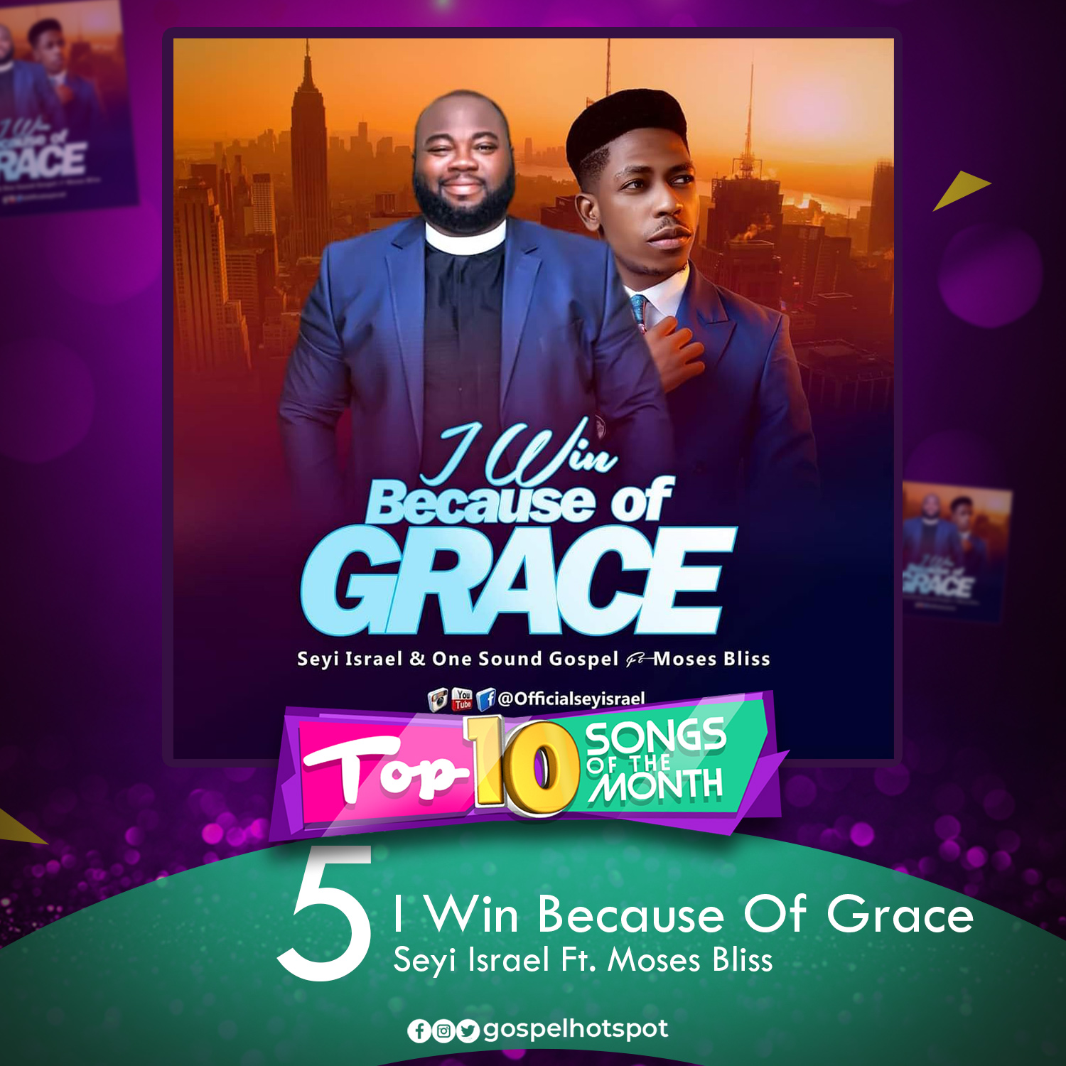 I Win Because Of Grace – Seyi Israel Ft. Moses Bliss