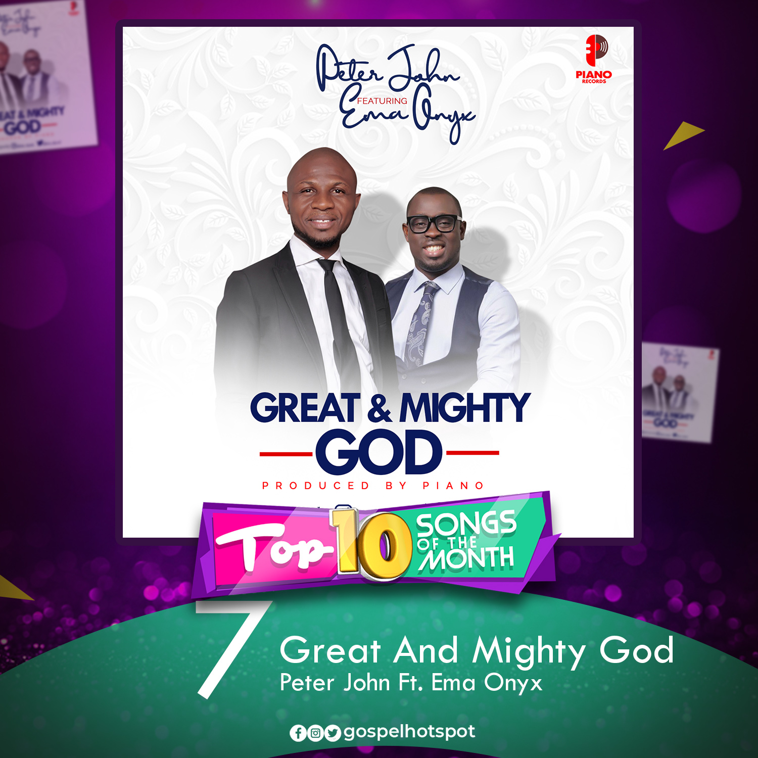Great And Mighty God – Peter John Ft. Ema Onyx