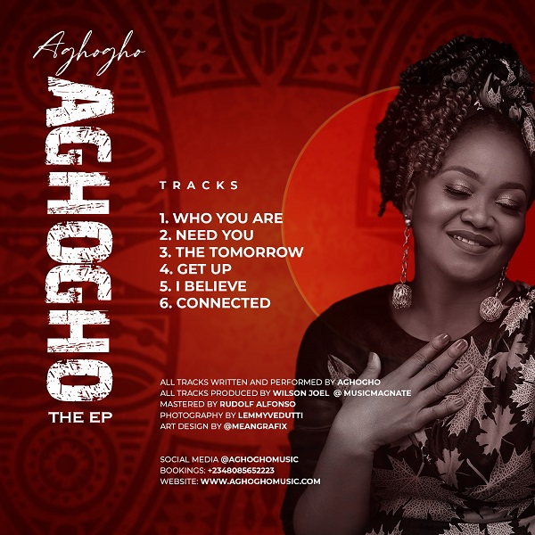 Aghogho's 6 Tracks Self Titled EP Now Out