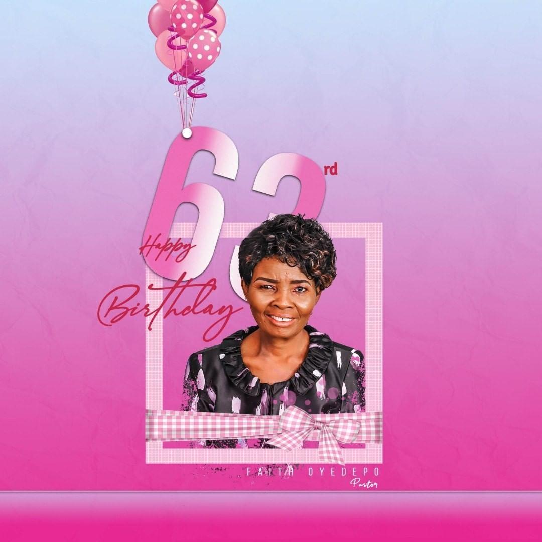 Faith Oyedepo Celebrates 63rd Birthday