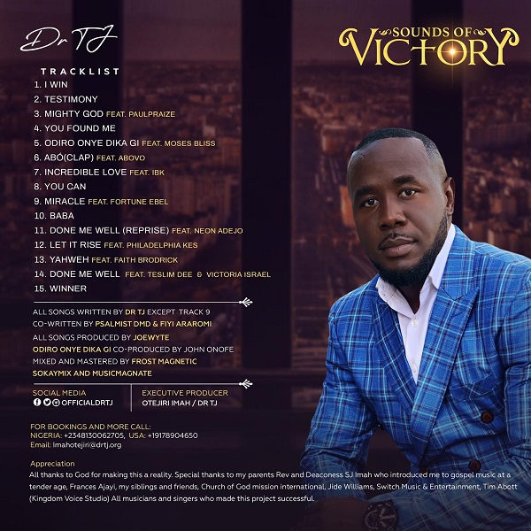 [Album] Sounds Of Victory - Dr TJ