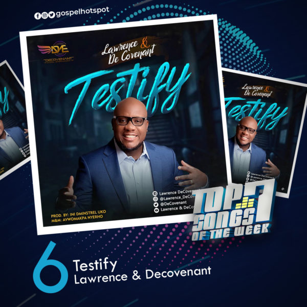 Testify – Lawrence & Decovenant
