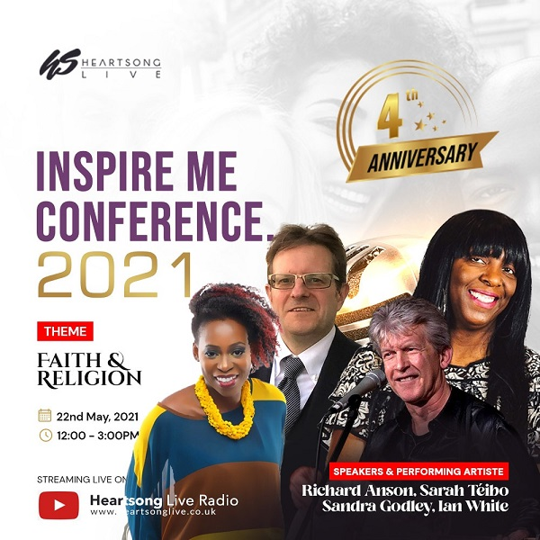 Heartsong Live Set For Inspire Me Conference 2021 To Mark 4th Anniversary