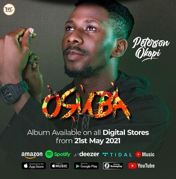 Peterson Okopi Set To Release His Debut Album -'Osuba'