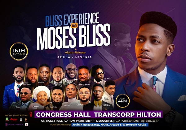 The Bliss Experience With Moses Bliss | 16th May 2021