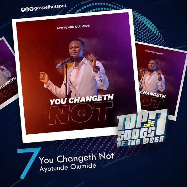 You Changeth Not – Ayotunde Olumide