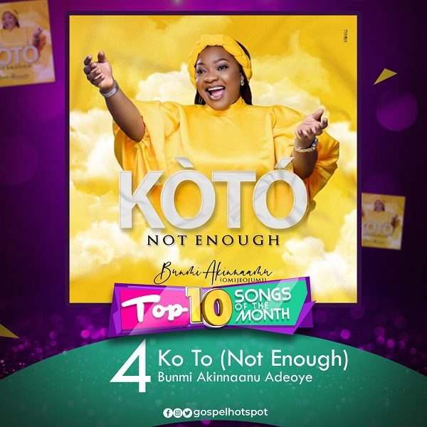 Ko To (Not Enough) – Bunmi Akinnaanu Adeoye