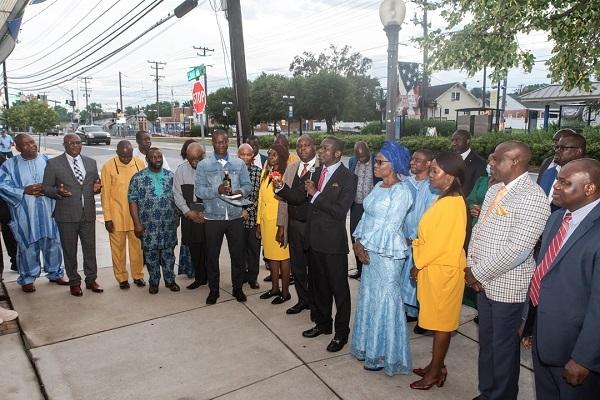 Bishop Wale Oke Dedicates New Church In USA