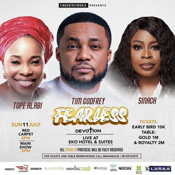 Countdown To Dr. Tim Godfrey's Fearless Concert