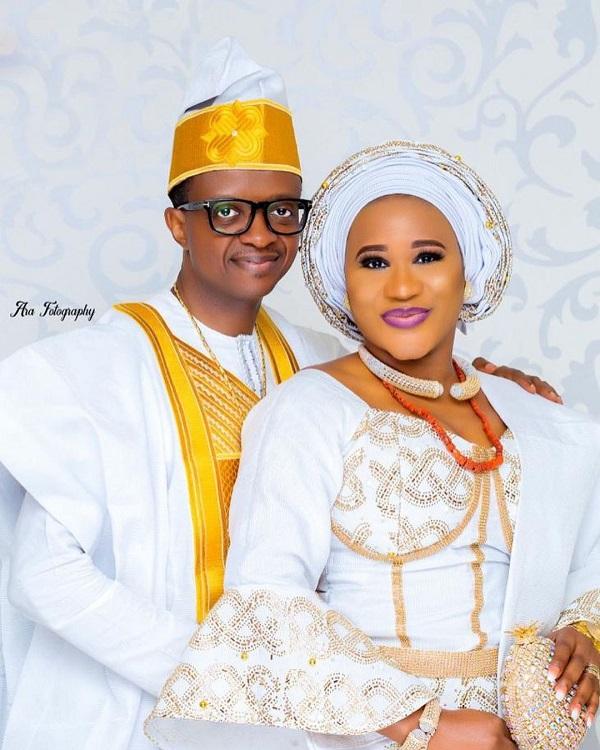 Happy Wedding Anniversary To Pastor David & Sunmbo Adeoye
