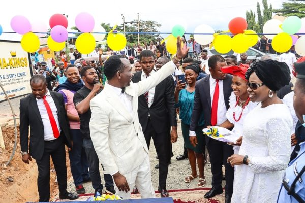 Pastor Enenche Commissions Road Project Constructed By Church