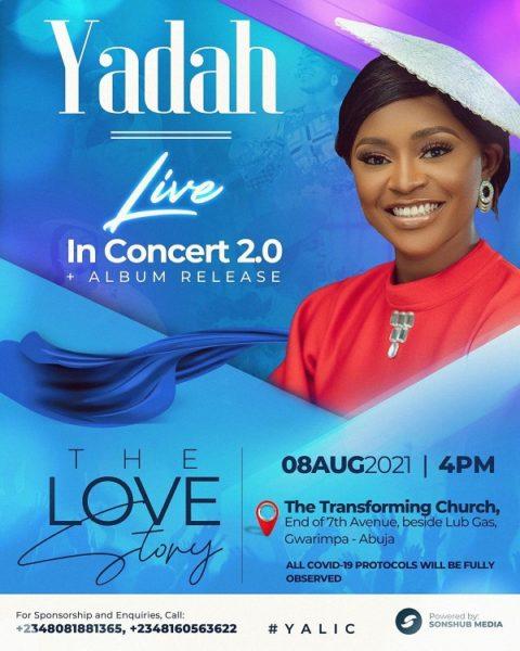 Yadah Live In Concert & Album Release