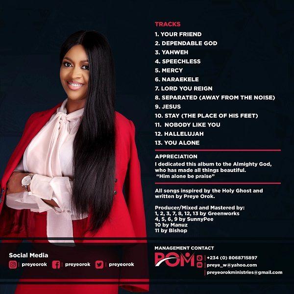 Preye Orok Full Album cover back
