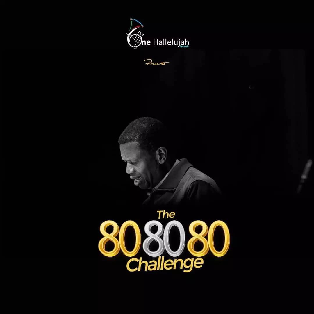 One Hallelujah Records Presents The 80 80 80 Challenge