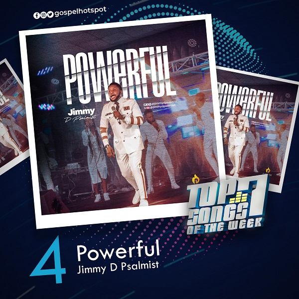 Powerful – Jimmy D Psalmist