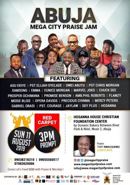 Abuja Mega City Praise Jam With Samsong