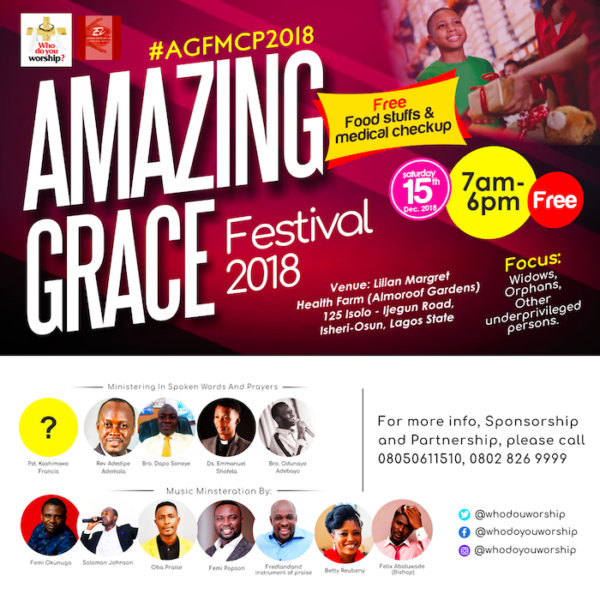 Amazing Grace Festival 2018