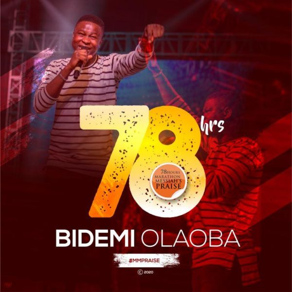 Bidemi Olaoba Live At 78 Hours Marathon Messiah's Praise