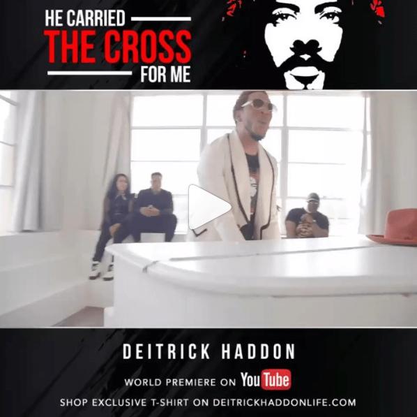 Deitrick Haddon – He Carried The Cross For Me