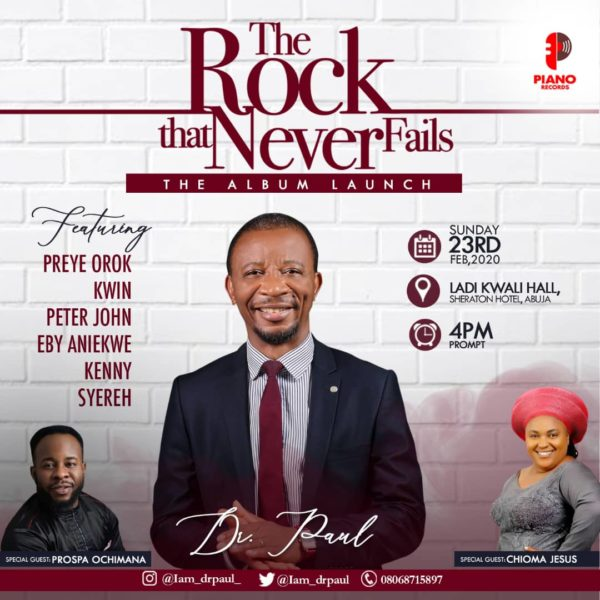 Dr Paul Live In Concert