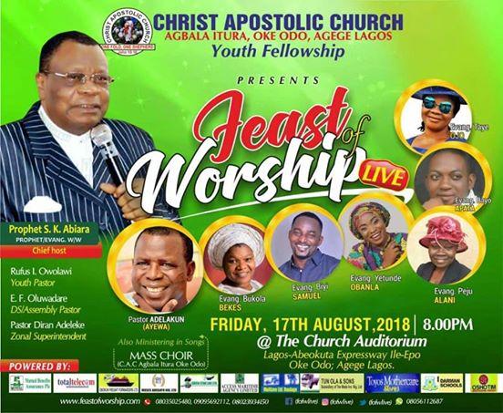 Feast Of Worship 2018