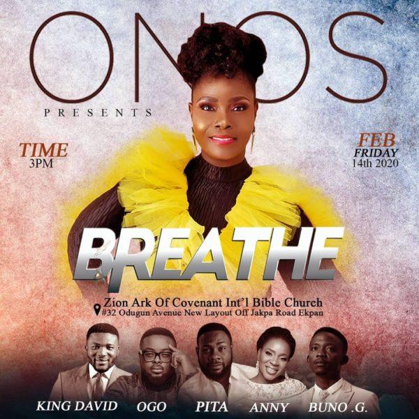Onos Ariyo Takes Breathe Concert Warri