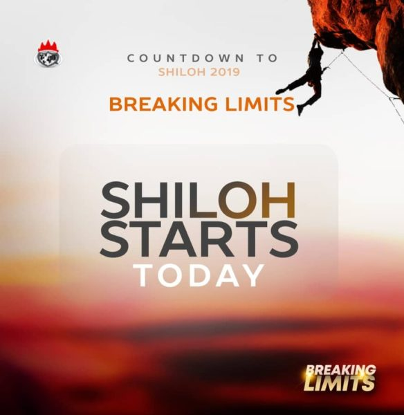 Programme Schedule For Shiloh 2019