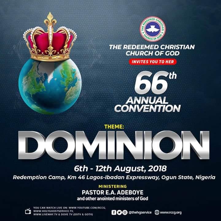 RCCG 66th Annual Convention 2018