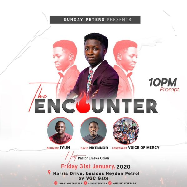 Sunday Peters Presents The Encounter