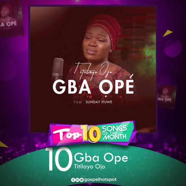 Titilayo Ojo – Gba Ope