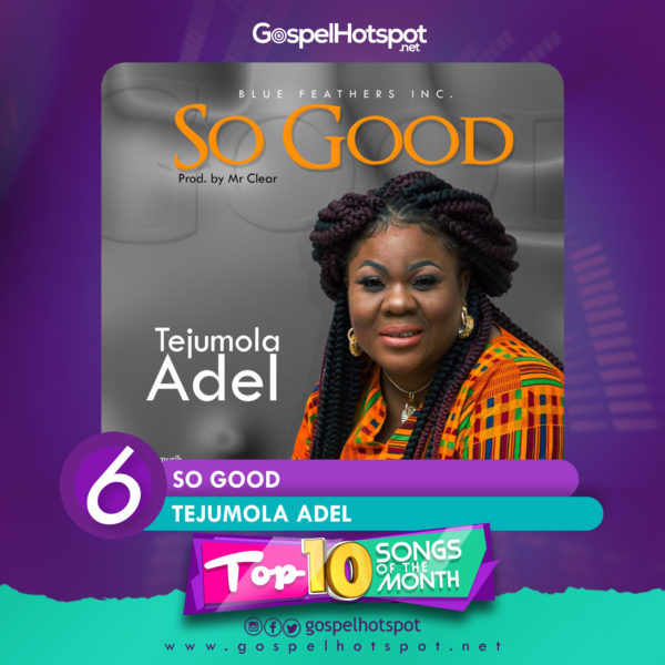 In the flow of the season of Thanksgiving, Boston Massachusetts based gospel ministerTejumola Adelstorms back to base with a classic highlighted AfroGospel tune titled'So Good'.