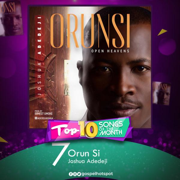 Joshua Adedeji – Orun Si [Open Heavens]