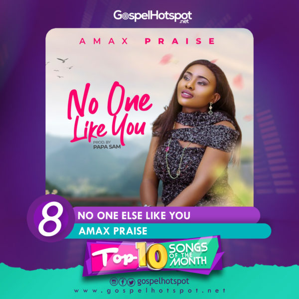 Amax Praise – No One Else Like You
