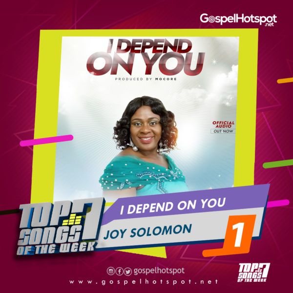 Joy Solomon – I Depend On You