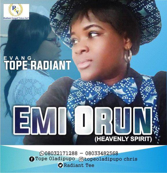 Tope Radiant - Emi-Orun
