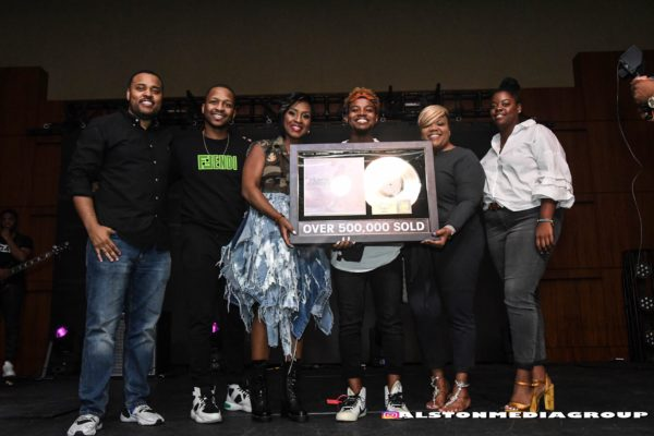 """Travis Greene Receives Gold Plaque For Hit Single """"Intentional"""""""