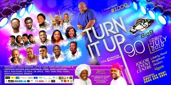 Turn It Up With Big B 2019